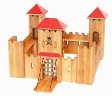 Château-Fort Bourg en bois Monde du jeu drewart ritterschloss massif 931-140