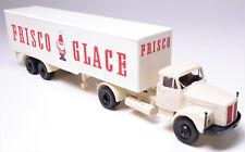 H0 BREKINA Scania L 110 Sattelzugmaschine Kühlkoffer Frisco Glace Eis # 98523