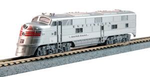 Kato N Scale E5A E5 Locomotive CB&Q Silver Pilot Zephyr #9911A DCC Ready 1765403