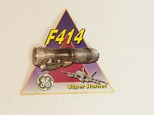 General Electric F414 Engine / Super Hornet Sticker Decal New Military