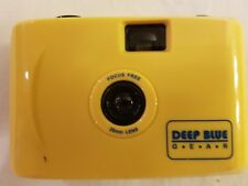 DEEP BLUE GEAR FOCUS FREE 28MM LENSE YELLOW CAMERA FREE SHIPPING