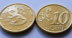 FINLAND - 10 cent 2001  UNC
