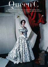Claire Foy 4-page clipping 2017 The Crown, Queen Elizabeth