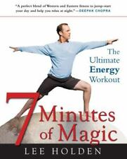 7 Minutes of Magic: The Ultimate Energy Workout, Lee Holden, Good Condition, Boo