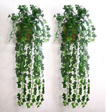 7.5feet Artificial Ivy Leaf Garland Plants Vine Fake Foliage Flowers Home decor