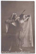 ORIGINAL POSTCARD RUSSIAN BALLET MORDKIN & BALASHOVA