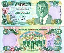 Bahamas 2001 , One Dollar , Banknote UNC