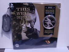 2012 Infantry Soldier Silver Dollar Defenders of Freedom Set (NF3)