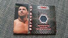 2008 TRISTAR TNA #AA-AS AJ STYLES AUTHENTIC ACTION MEMORABILIA #123/250