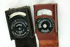 TWO vintage bakelite ILFORD light/exposure meter, one working, other for spares