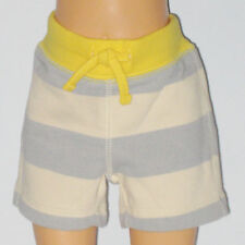 New BABY GAP Size 0-3 Months Boys Crystal Blue Dusk Rugby Shorts