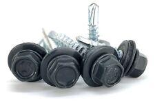 Trapezblech Schrauben RAL7016 Bohrschrauben selbstbohrende 4,8 x 20mm 250 Stück
