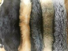 Rabbit Fur Pelt Natural Assorted Earth Tones Fur Skin Tanned Hides 9'x12'