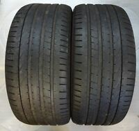2 pneus d'été PIRELLI PZERO 275/40 R20 106W ra331