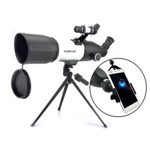 Visionking 80mm Refractor Astronomical Telescope + phone Adapter Photogragh