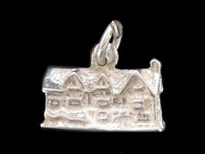 Shakespeare's birthplace Charm Sterling silver 925 charmmakers 3D