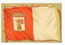 Monaco Flag CPA Antique PC Drapeau—Monte Carlo—Im Restaurant 1910s