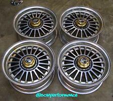"""JDM 15"""" WORK EWing MESH RARE Wheels Rims 4x114.3 AE86 FC3S S13 RX7 CB7 CB3 ITR"""