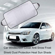 Car Windscreen Cover Anti Snow Frost Shield Dust Protection Heat Sun Shade IB