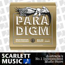 Ernie Ball 2086 Paradigm Medium Light 80/20 Bronze Acoustic Guitar Strings 12-54