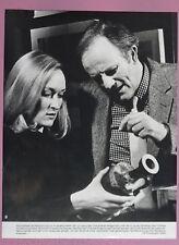 (X219) Pressefoto - Josef Sommer / Meryl Streep In der Stille der Nacht (1982)