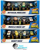 Hot Wheels Monster Trucks 4 Pack 2020 New - 1:64 - Your choice