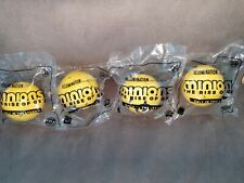 (4)Mcdonald Happy Meal Toys 2020 Minion  Rise Of Gru #15 Gold +#17,20,24 Regular