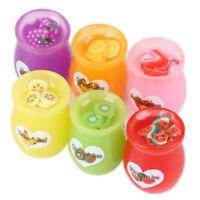6pcs/set 1:12 Dollhouse Miniature Food Fruit Jam Bottle Can Play Kitchen T MW