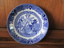Unboxed Ironstone Blue Burleigh Pottery