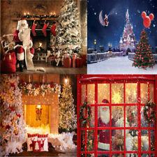 Christmas Santa Claus Photography Backdrops Photographers  Photo Background