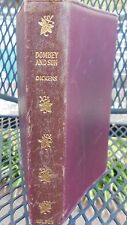 Novel by Charles Dickens Volumn 7  Leather Bound Reprinted in 1902 Orginial 1848
