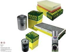 MANN-FILTER Paket + Presto Klima-Reiniger für Audi 80 8C B4 89 89Q 8A B3 Avant