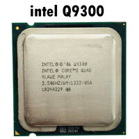 Intel Core 2 Quad Q9300 2.5 GHz Quad-Core CPU Processor 6M 95W LGA 775 AR02MG