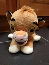 "DISNEY LION KING SIMBA SOFT TOY PLUSH TEDDY 11"" (14"" INCLUDING TAIL)"
