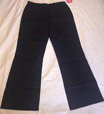 Izod Girls Navy Blue Approved School Pants Sz 16 1/2 Plus Adjustable Waist Nwt