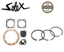 SOLEX 2200 3800 5000 REPAIR SET + PISTON RING GASKET SEAL MOTOR VINTAGE MICRON