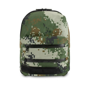 Skunk MINI Backpack Smell and Odor Proof w/ Combo Lock - Green Pixel Camouflage