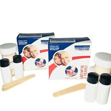 Perma suave rebasado ~ DENTURE Adhesivo alternativa! ~ 4 Kits ~ Dientes Falsos reliner ~ Forro