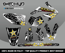KIT ADESIVI GRAFICHE WINGS BLACK HM DERAPAGE 50 2009 2010 2011 DECALS DEKOR