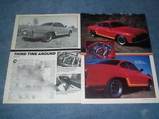 """1967 VW Karmann Ghia Vintage Article """"Third Time Around"""""""