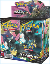 Pokemon Team Up 18 Booster Pack Lot 1/2 Booster Box Pokemon TCG Sun & Moon