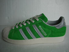 ADIDAS CUSTOM MI Superstar 80'S Trainers BlueGreen Uk 10