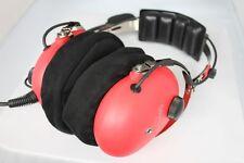 Aviation Pilot Headset Cotton Ear Cover for SkyLite,David Clark,ASA etc Headsets