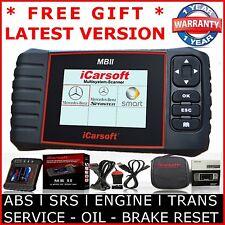 MERCEDES BENZ SPRINTER OBD2 Diagnostic Scanner Tool SRS ABS iCarSoft MBII i980