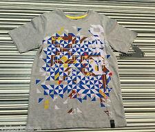 Dkny Gris con logotipo en la parte superior CAMISETA: tamaño S/8 años * BNWT * comprado @ Macys de Nueva York