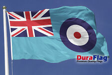More details for duraflag raf ensign 5ft x 3ft heavy duty flag with d rings