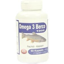 OMEGA 3 Berco 1000 mg Kapseln 60 St
