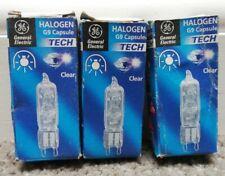 G9 Long Life Halogen Light Bulbs- 25W, 40W, & 60W G9 Capsule Light Bulbs GE x 3
