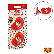 Jelly Belly Twin Pack Gel Car Vent Air Freshener Freshner Scent - Very Cherry