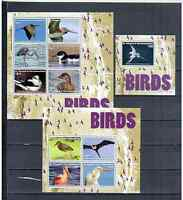 ST. VINCENT GRENADINES BIRDS 2015  MNH